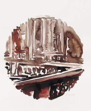 Versailles [aquarelle originale]