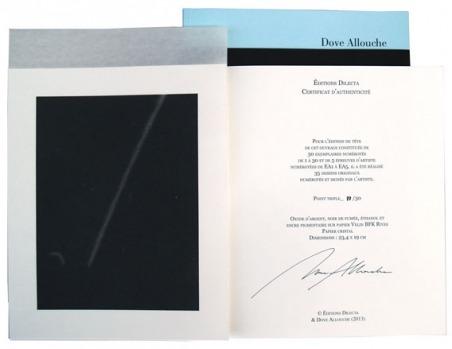 Dove Allouche. Point triple (papier cristal)