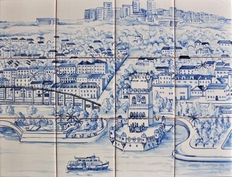 Joana Vasconcelos [panneau d'azulejos]