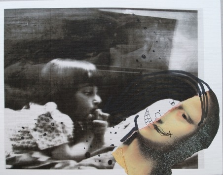 Ramin Haerizadeh [original collage]