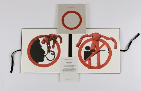 Interdictions [2 lithographs assembled in a canvas portfolio]