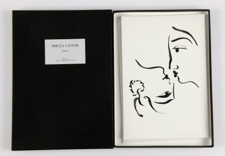 Amour [coffret de 4 dessins]