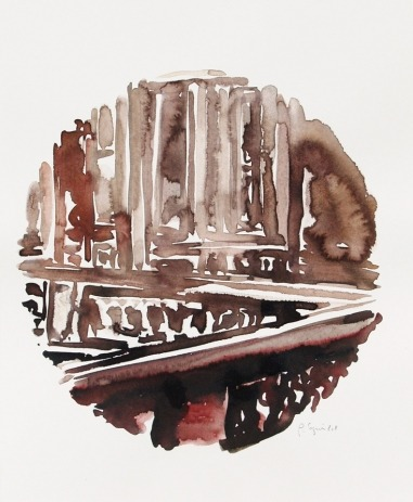 Écho [aquarelle originale]